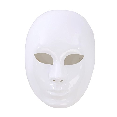 lay Maske Wolf Kate Manga Horror Eyeliner Nostril Anonymous Unisex (87343-9009-000) (Punk Rock Zombie Kostüm)