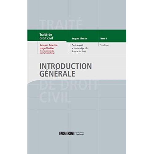 Introduction générale - Tome 1