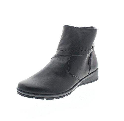 ENVAL SOFT 68700 nero scarpe donna stivaletti tronchetti zip 39