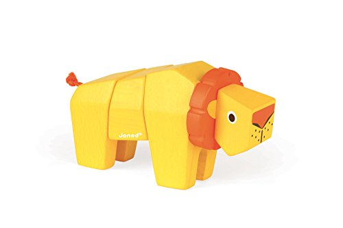 Janod-J08219-Animal-Kit-Lion-Bois