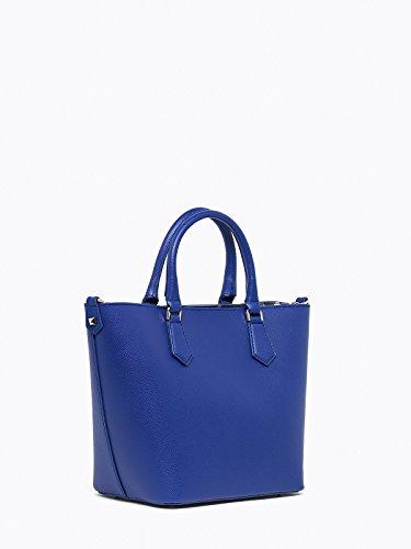 Patrizia Pepe Candy Cadillac sac à main cuir 22 cm modern blue
