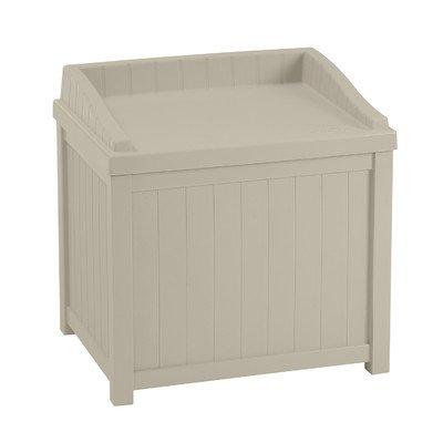 Suncast 22Liter Deck Box mit Sitz (Outdoor-deck Suncast)