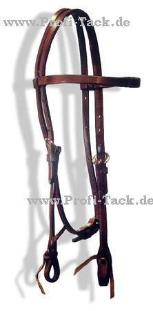 Profi-Tack Ranch-Work-Brown Harness Kopfstück Brown Ranch