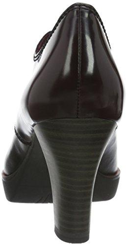 Tamaris Damen 23300 Kurzschaft Stiefel Schwarz (Black/Bordeaux 086)