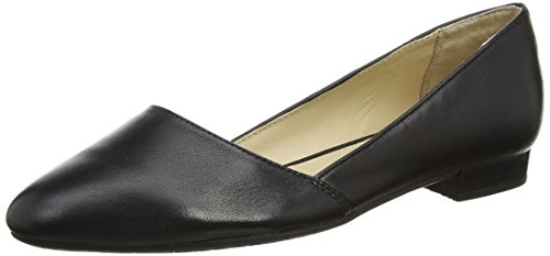Hush Puppies Jovanna Phoebe, Women's Ballet Flats, Black (Black), 7 UK (41 EU)