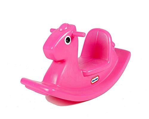 Little tikes- Rocking Horse PeluchesBalancines de pelucheLITTLE TIKESBalancin Caballito Magenta, Color...
