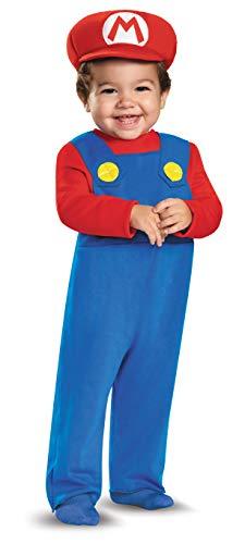 Kostüm Mario Kleinkind Super - Generique Super Mario Kostüm für Kleinkinder 86 (12-18 Monate)