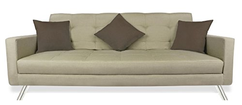 Adorn India Alton sofa cumbed(Grey)