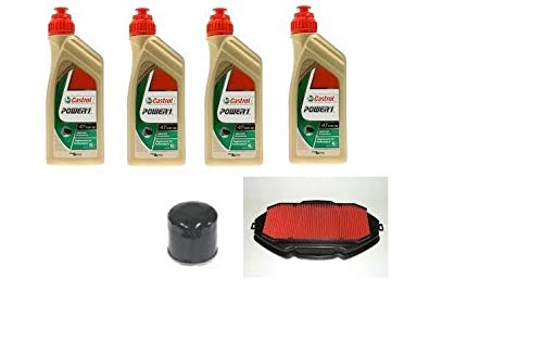 MGM Tecneco Kit Honda Integra 700 2011/2013 Huile Castrol Filtre à huile Filtre AR