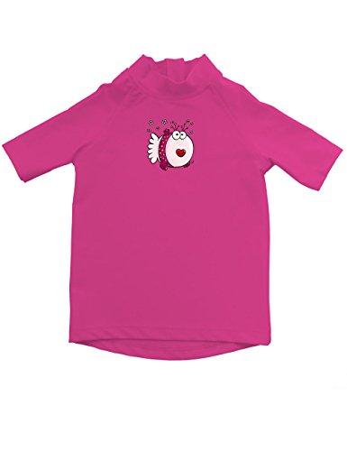 iQ-Company Kinder UV-Shirt IQ 300 Kiddys Jolly Fish, rosa (Pink (Mädchen)), Gr. 80/86