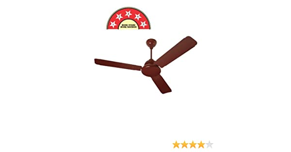 Surya SS-32 Prime Brown BLDC Ceiling Fan (With Remote)