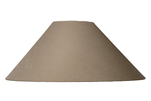 Lucide SHADE - Abat Jour Lampe - Ø 50 cm - Taupe