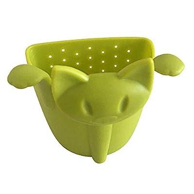 ANNIUP - Infuseur à thé en Forme de Chat Mignon - Filtre à thé en Vrac/Feuilles/Herbes/épices - pour Tasse ou Tasse - Cadeau pour Les buveurs de thé