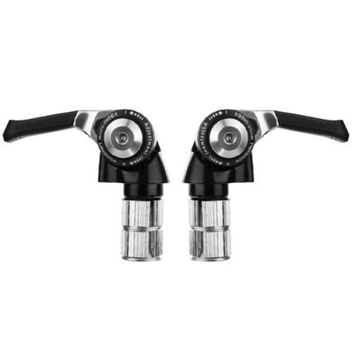 Microshift Bs-a09 9 Speed Road Bike Bar End Shifters for Shimano by microSHIFT