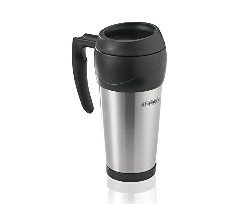 Leifheit 25770 Black, Stainless Steel 1pc (s) Cup/Mug – Cups & Mugs (Single, 0,5 l, Black, Stainless Steel, Stainless Steel, 1 pc (s), 205 mm)