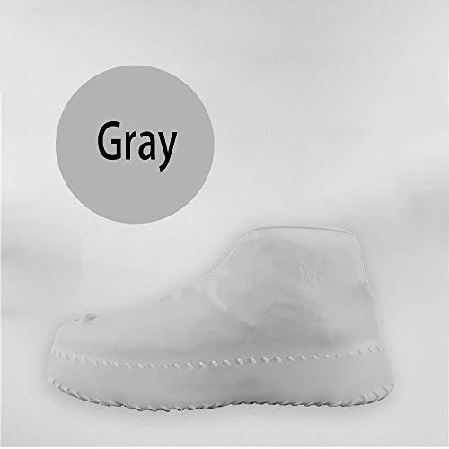 Wxqy copriscarpe in silicone pioggia coperta da bambino impermeabile per adulti impermeabile antiscivolo impermeabile antipioggia coprire la scarpa indossabile / 6 colori opzionale