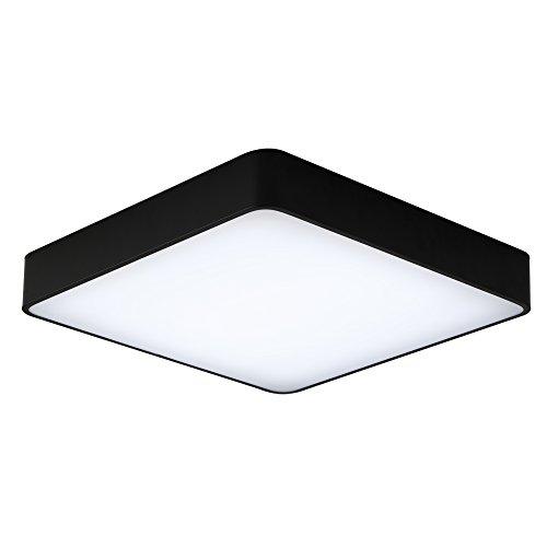 Schwarz-licht-lampe 18 (18W Kaltweiß Platz Deckenleuchte Künstlerisches Design LED Deckenlampe 300 * 300 * 60 mm Kreative Modern Lampe für Wohnzimmer Schlafzimmer Küche Korridor Restaurant (18W Kaltweiß))
