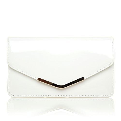portafortuna-bianca-vernice-misura-media-borsetta-con-chiusura-a-scatto