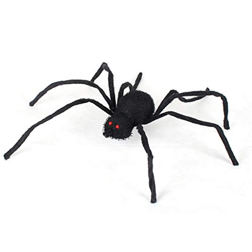 vijTIAN Halloween Fake Spider Party Home Decoration Spuked Horrid Scare Scene Toy It can be Used to Decorate Halloween Party B