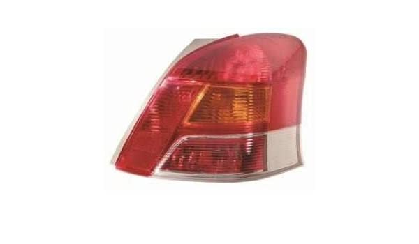 Yaris Driver Side Offside Rear Light Lamp Unit 2009-2010