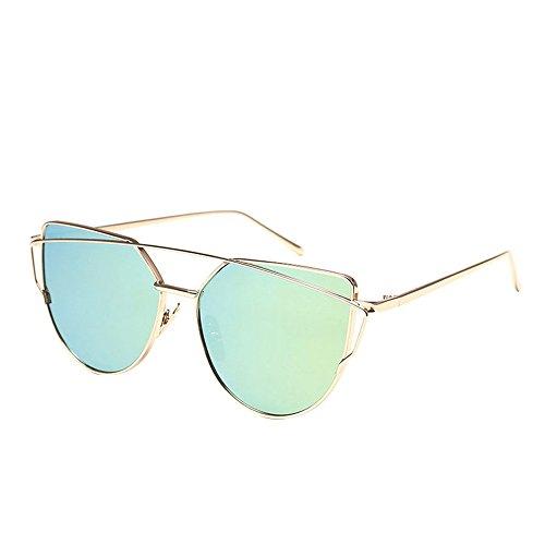 WooCo Pilotenbrille für Herren Damen Polarisiert, Heißer Verkauf Fashion Twin-Beams Classic...