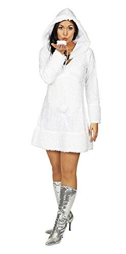 Schneeflocke Kostüm für Damen Gr. 44 46 - Hochwertiges Damenkostüm für Theater, Karneval oder Mottoparty