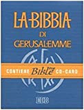 La Bibbia di Gerusalemme-CARD. Con CD