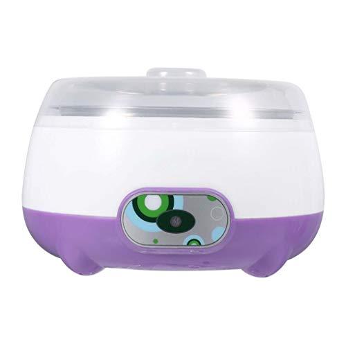 Multifunzionale Macchina Automatica elettrica per Yogurt casa in Acciaio Inox 1L capacità Yogurt Strumenti Fai da Te (Colore : B)