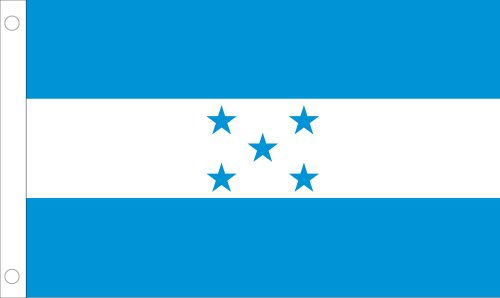 Allied Flag Outdoor Nylon Honduras United Nation Flagge 5 by 8-Feet (United Nations-flag)