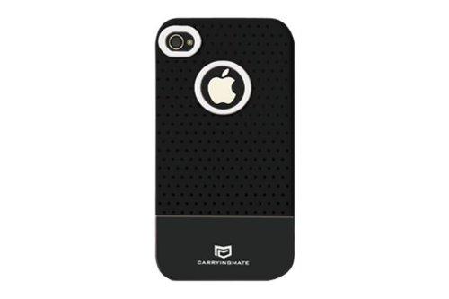 Carryingmate Industries USA Micro Grip Schutzhülle für iPhone 4 / 4S, 1 Stück, schwarz Iphone Micro Grip