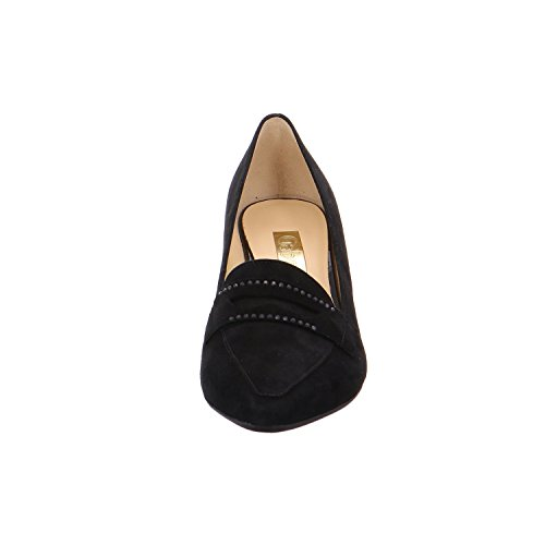Gabor, donna-Scarpe col tacco, 45,142 Nero (nero)