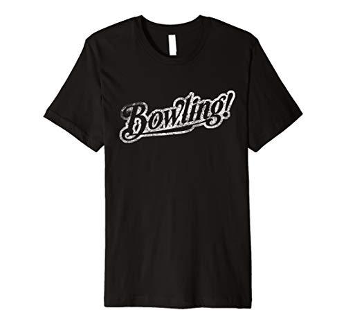 (Love Bowling Spiel T Shirt Schüssel Pin Tee Bowler Kostüm)