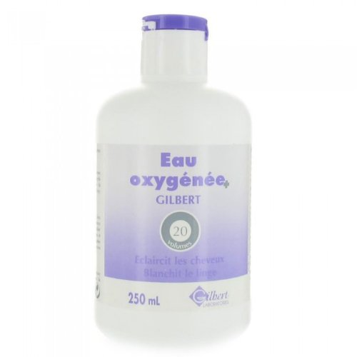 EAU OXYGENEE 20 VOLUMES GILBERT 250 ML