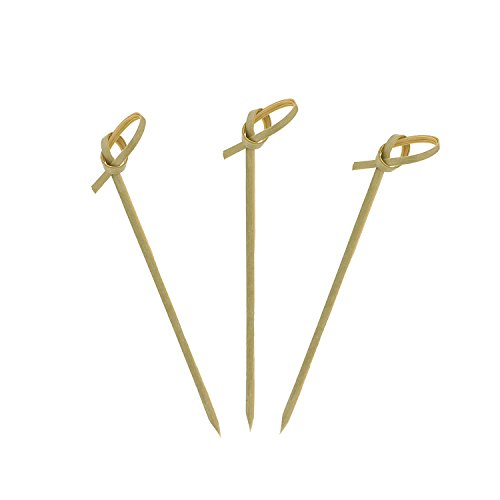 31wvDdJUFvL BEST BUY #1Royal Bamboo Knot Cocktail and Hors Doeuvre Picks, 9 cm, Brown, Package of 100 price Reviews uk