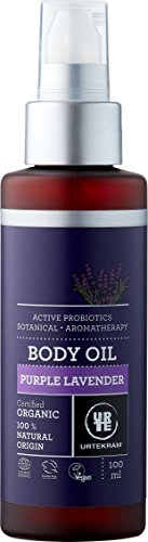 Urte KRAM PURPLE Lavender koerperoel Bio, umidità equilibrio e la pelle, 90ML