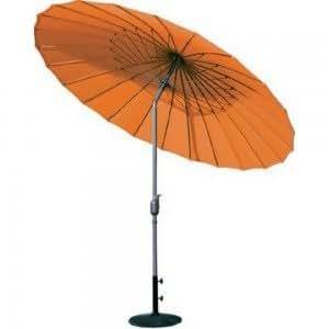 Parasol inclinable orange AERO Couleur Orange Matière Aluminium