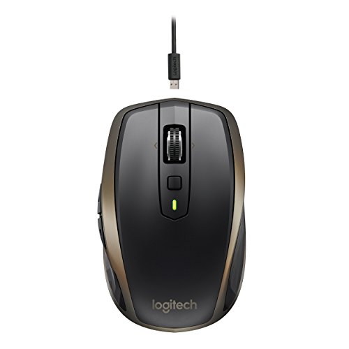 Logitech MX Anywhere 2 Wireless Maus für Windows/Mac (Bluetooth, Unifying) schwarz - 2
