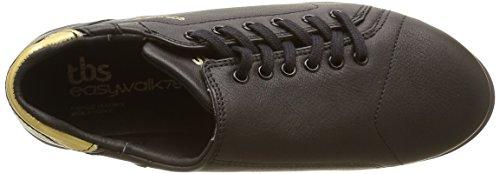 TBS Orrelie, Chaussures Lacées Femme Noir (Noir/Or)