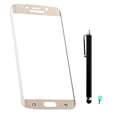 3D Gebogen Panzerglas Schutzfolie für Samsung Galaxy S6 Edge plus