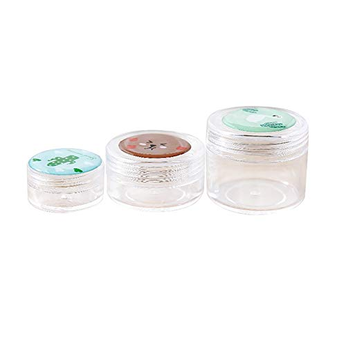Cremetiegel Kosmetische Verpackung Box Make-up Gesichtscreme Container Zufällig