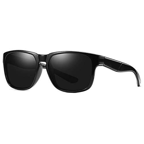 LEIAZ Herren-Designer-Sonnenbrille - Polarisierte Verspiegelte Gläser - Breite Sonnenblenden - Ideal Für Den Strandgebrauch!