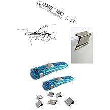 d6d0f11329 TrAdE Shop Traesio - SPARAMOLLE SPARACLIP SUPACLIP con 6 Molle COMPRESSE  Dispenser per RILEGARE Fogli