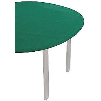 Tavolo Quadrato 140 X 140.Lovely Home Copritavolo Con Elastico Verde Mollettone In Feltro Tavolo Quadrato Cm 140x140