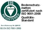 Floordirekt PP - 8 Größen zur Wahl - Budget Bodenschutzmatte semitransparent mit TÜV für Hartböden (90 cm x 120 cm) - 3