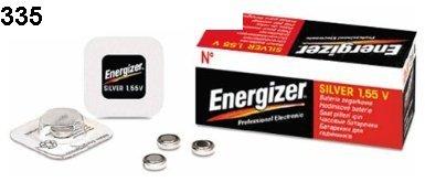 1-x-Energizer-335-Sr512sw-0-mercure-Oxyde-dargent-pile-bouton-Piles-pour-Montre