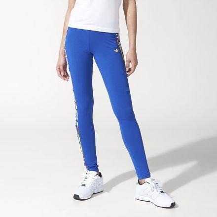 d4372516c57fa adidas Originals Womens Womens Rita Ora Super Logo Leggings in Blue - 6