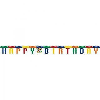 Block Party Happy Birthday Card Banner