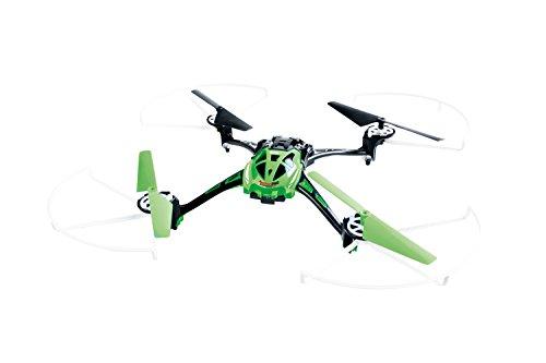 XciteRC 15014100 - Ferngesteuerter RC Quadrocopter Rocket 250 3D - 4 Kanal RTF Drohne mit Kamera, grün