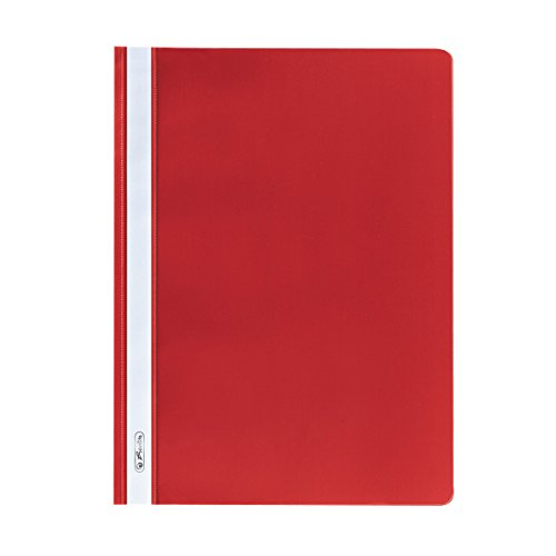 Preisvergleich Produktbild Herlitz 975433 Schnellhefter DIN A4 in rot