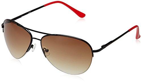Fastrack Aviator Sunglasses (Black) (M102BR1) image